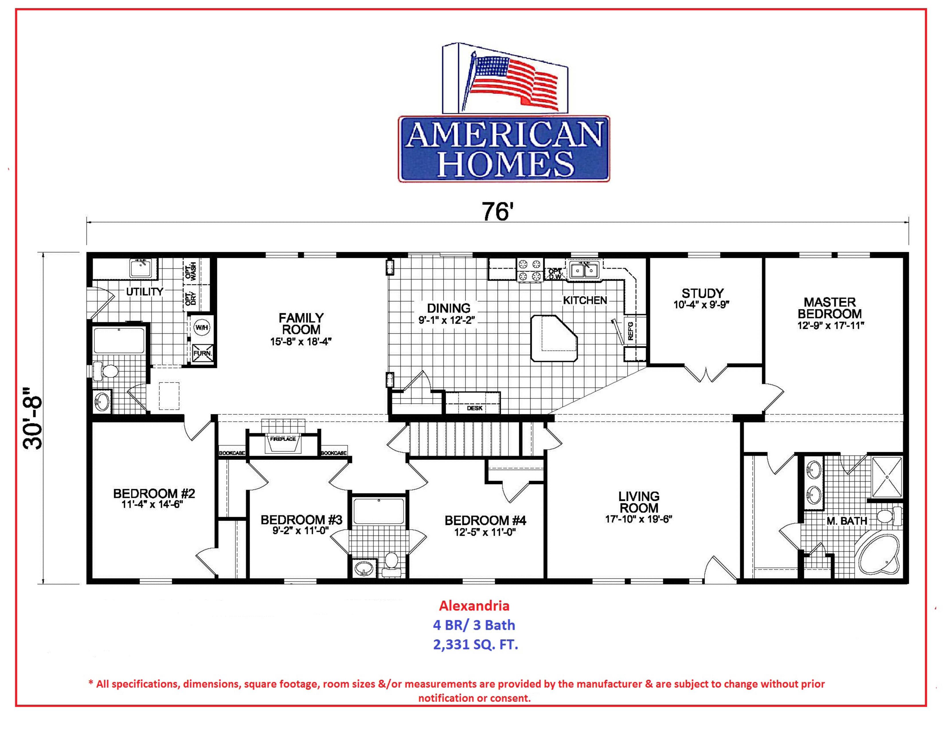 alexandria new american homes