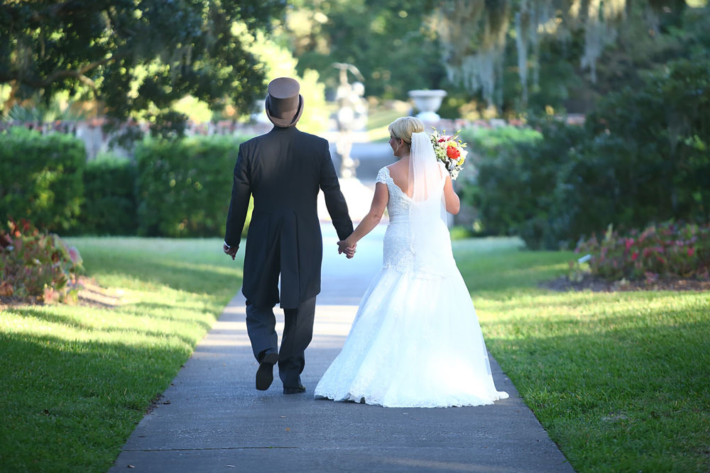 Wendy + Fran Wedding at Brookgreen Gardens, Live Oak Allée & Pegasus Statue – Thumbnail