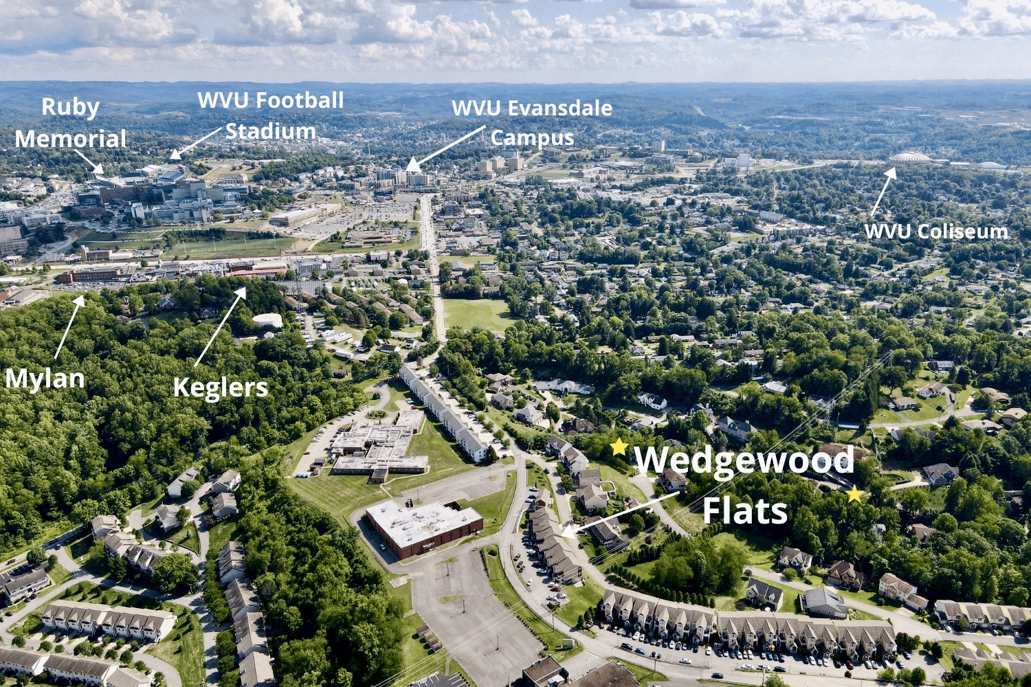 Wedgewood Flats - location photo
