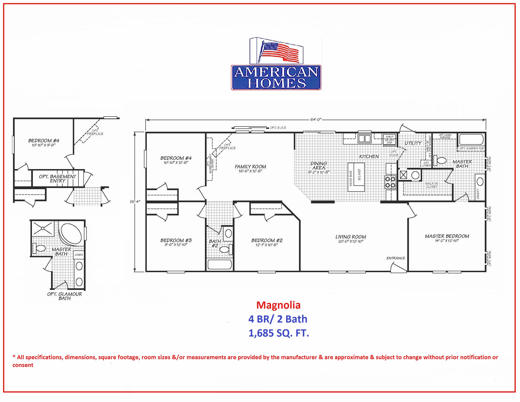 Awesome magnolia homes floor plans graphics home - Magnolia homes floor plans ...
